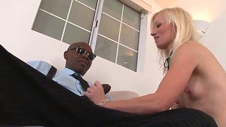 Blonde Hottie Heidi Hanson Pleases Black Hunk With A Huge Dick Sean Michaels