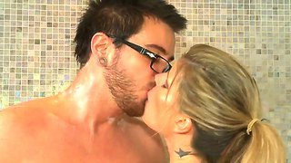 Dane Cross Spends Time With Kristal Summers In Bathroom