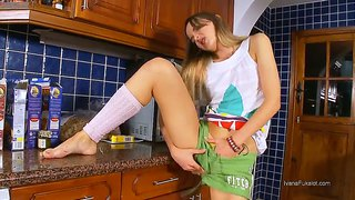 Naked Show Cooking With Teen Nympho Ivana