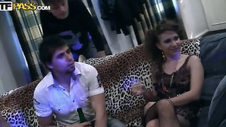 Awesome amateur party with naughty friends named annika, kristel, maddie and michele