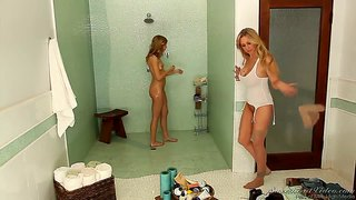 Chastity Lynn And Julia Ann Having Fun In The Shower