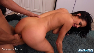 Sexy Milf Gets Rammed In The Kitchen