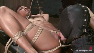 Black Slut Tormented And Pussy Licked