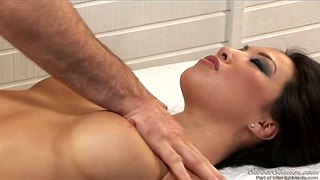 I love to give nice massages to asa akira