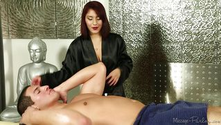 Handjob Rothaarig Massage Blowjob