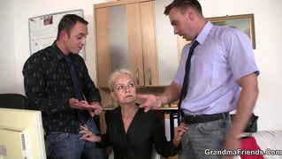 Job Interview Leads To Threesome