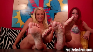 Foot Worship Fetish Duo Tube Video
