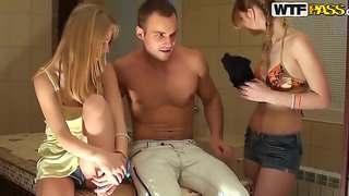 Amazing Amateur Group Orgy With Gorgeous Babies Whose Names Are Anika, Mancy, Marika And Marya