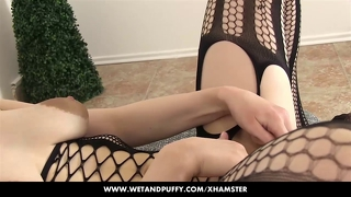 Nancy Is Playing With Her Pussy