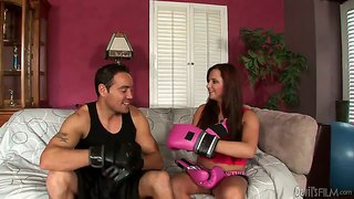 Naughty Hope Seduces Her Stepbrother