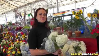 Hot Milf Picked Up By A Florist