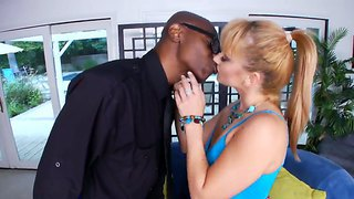 Malaking Tite Blonde Tite Interracial