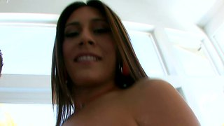 Busty Raylene Craving For Her First Cream Pie