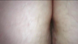 Rubbing Her Hairy Pussy On My Hard Cock Reverse Cowgirl,