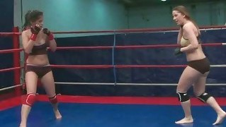 Wild Teen Girls Wrestling
