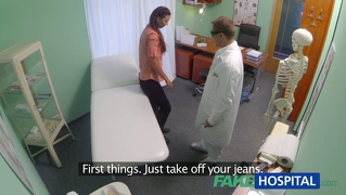 Fakehospital married wife with fertility problem has vagina ...
