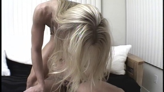Hot blonde loses her vaginal and anal virginity all at once!