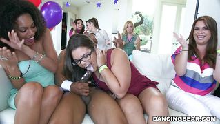 Dancing Bears At A Girls Only Party