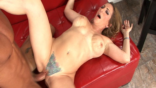 Sweet Tattooed Pussy Elexis Monroe Is Stretched
