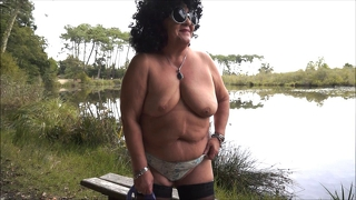 Granny Strip At The Lake