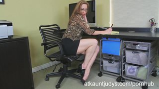 Skinny Milf Betty Blaze Gets All Naughty At The Office