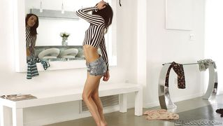 Cutie Tries On Clothes And Masturbates