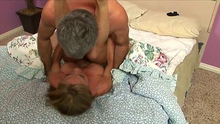 Shayla laveaux being nailed in her old pussy by a mature dude