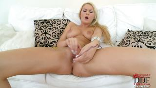 Antonia Masturbating At Home!