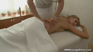 Hot Girl Vagina Massage