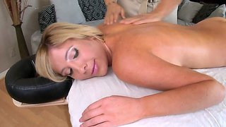 Tasha Reign Gets Her Body Massaged So Well