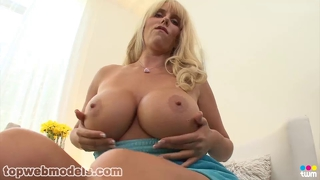 Busty Milf Gets A Facial