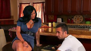 Arousing Brunette Sophia Lomeli Amazes Hunk Keiran Lee With Her Sweet Body