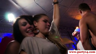 Real Party Euro Teen Gets Throatfucked