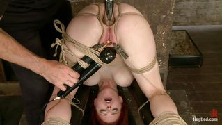 Sexy Redhead Got Hooked