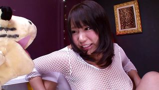 Chubby Japanese Teen Gets Played With