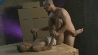 Ebony Beauty Fucked Hard In Warehouse