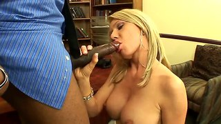Ashley Winters Sucks Black Dick Of Sean Michaels