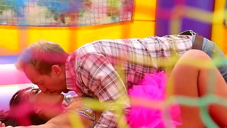 Mischa brooks fucks for the first time on her birthday party