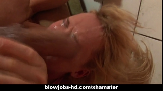 Carly Parker Give A Blowjob To A Thick Cock
