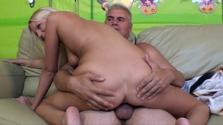 Hot Young Blonde Gets Fucked Until She Squirts