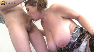 Amateur Mom And Not Her Son
