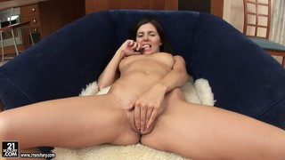 Monica b. is a cutie galore and likes to play with anal sex toys