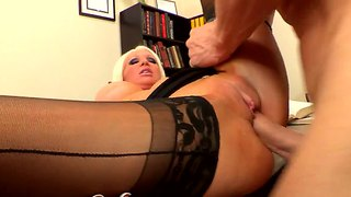 Holly price gets assessed by johnny sins