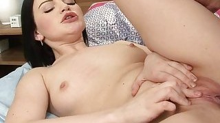 Hot pussy drilled till sated