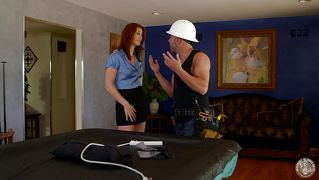 Ginger Milf Works The Repairman Hard