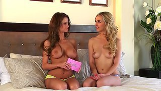 The Interview Started To Heat Up For Emily Addison When She Started To Take Off Her Clothes