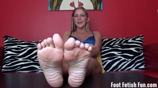 Worship Horny Step-Sister's Sexy Feet
