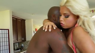 Bridgette B. Gets Nailed Hard During Naughty Interracial Along Hunk  Lexington Steele
