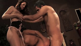 Sluts August And Ava Blow And Fuck The Rod