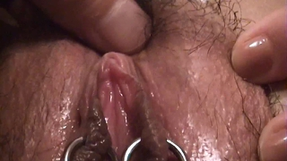 Japanese Amateur Pleased Labia Pierced